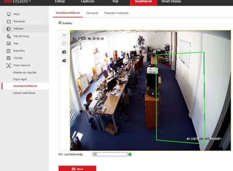 Telepítési és programozási útmutató: Maszkdetektálás Hikvision AcuSense kamerával