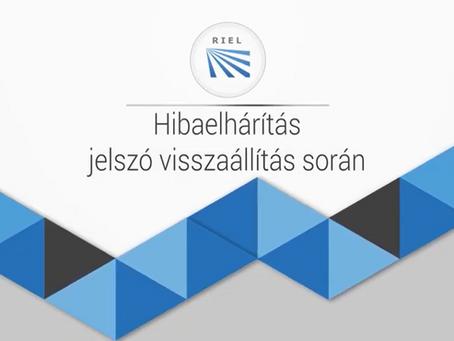 Hikvision eszközök jelszó visszaállítása