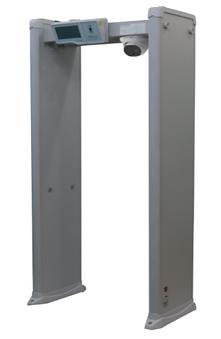 metal detector door thermo camera