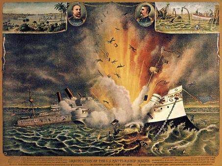 ¿Hasta qué punto la explosión del Maine fue la causa más determinante de la guerra hispanoamericana?