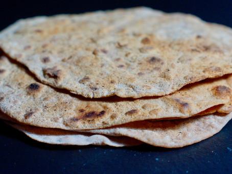 Roti - Fladenbrot der Sri Lankesen und Inder