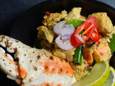 Bu Pad Pong Karee - Yellow Crab-Curry - Gelbes Krabben Curry aus Thailand