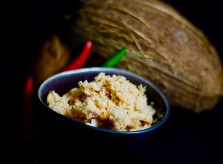 Coconut Sambol - Kokosnusswürzpaste aus Sri Lanka