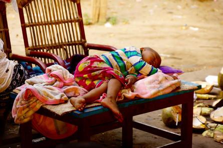 Sleeping Boy Mandalay