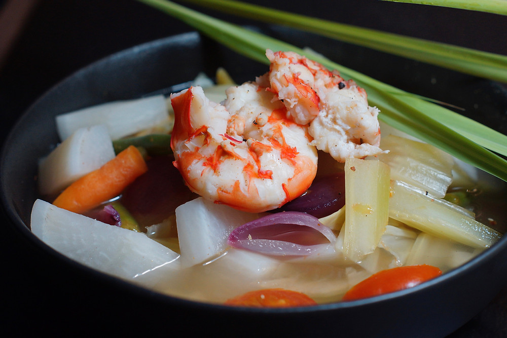 Sinigang-philippinische Suppe
