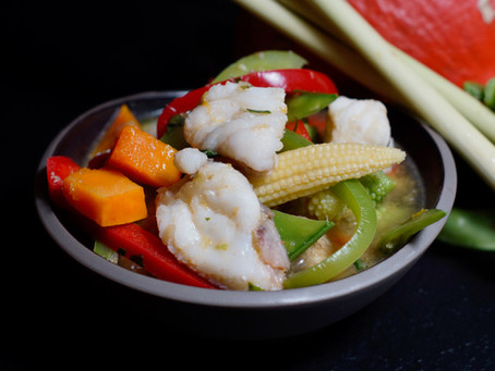 Gaeng Pa Pla - Jungle Curry mit Fisch