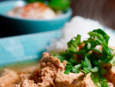 Chicken Tikka Masala (CTM)-Hähnchenfleisch in Joghurtmarinade