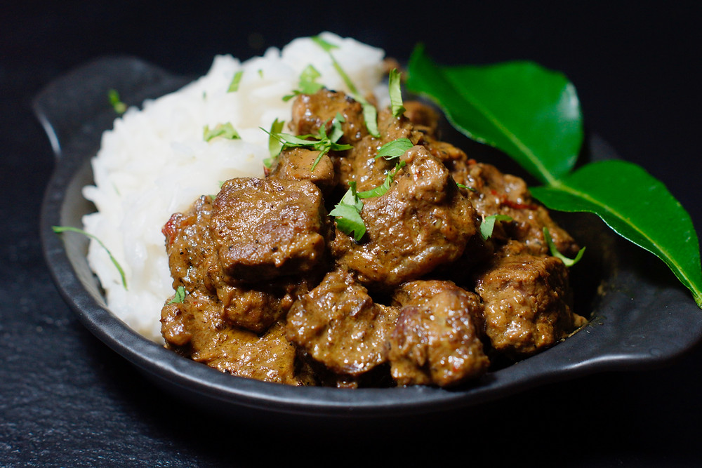 Beef Rendang - Rindfleisch-Curry aus Indonesien