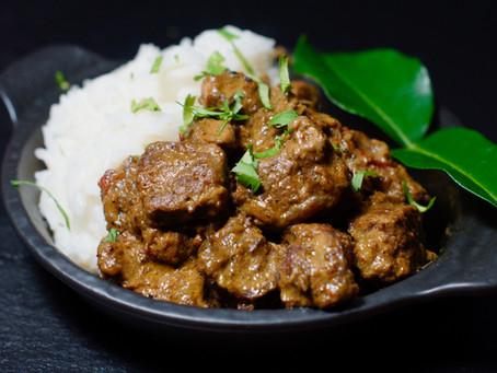 Beef Rendang - Rindfleisch-Curry aus Indonesien