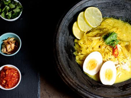 Soto Ayam-indonesische Hühnersuppe