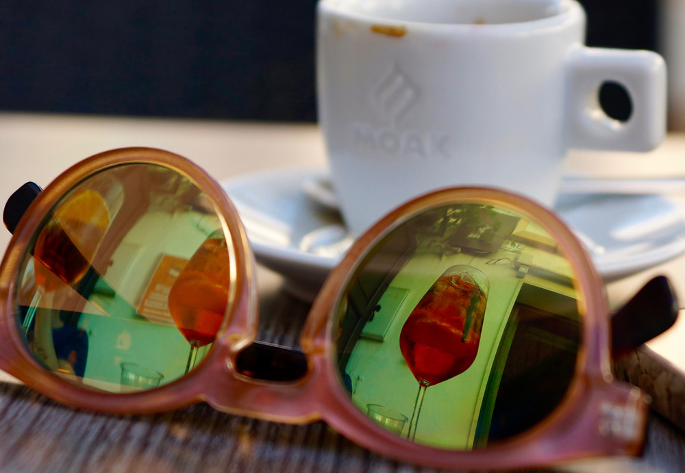 Espresso und Aperol Spritz