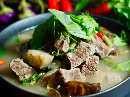 Or lam - Eintopf aus Laos