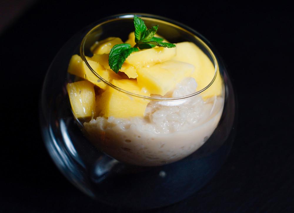 Mango Sticky Rice - Klebreis mit Mango aus Thailand