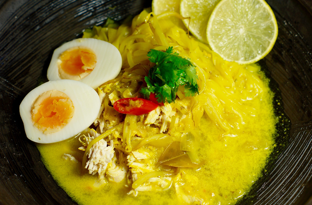 Soto Ayem-Indonesische Hühnersuppe von cooking is a journey