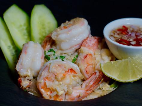 Khao Pad Goong - Gebratener Reis mit Shrimps