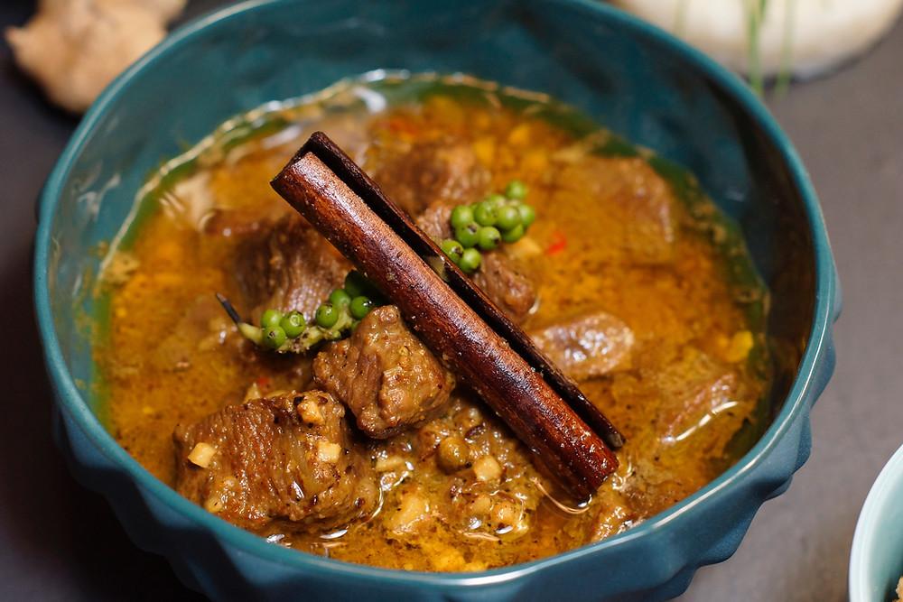 Burmesisches Lamm-Curry
