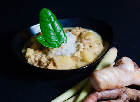 Kare tahu - vegetarisches Tofu Curry