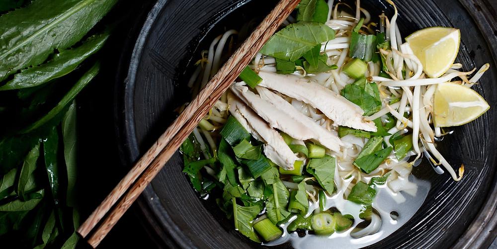 Pho Ga - vietnamesische Hühnersuppe