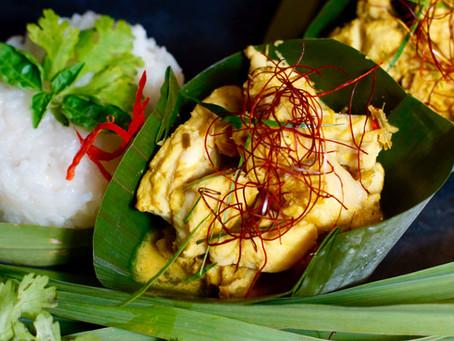 Amok- Fischcurry aus Kambodscha