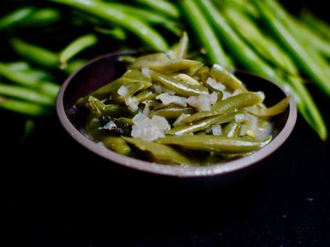 Grüne-Bohnen-Curry aus Sri Lanka