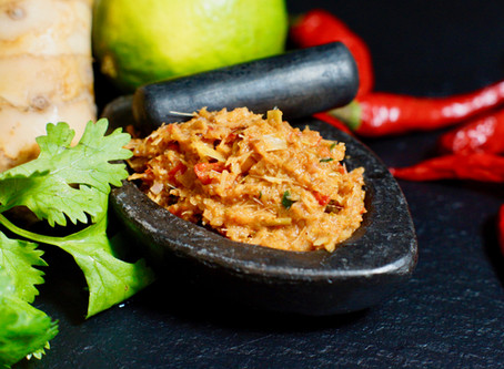 Kruang Gaeng Ped -Rote Curry-Paste