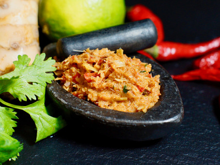 Kruang Gaeng Ped -Rote Curry-Paste aus Thailand