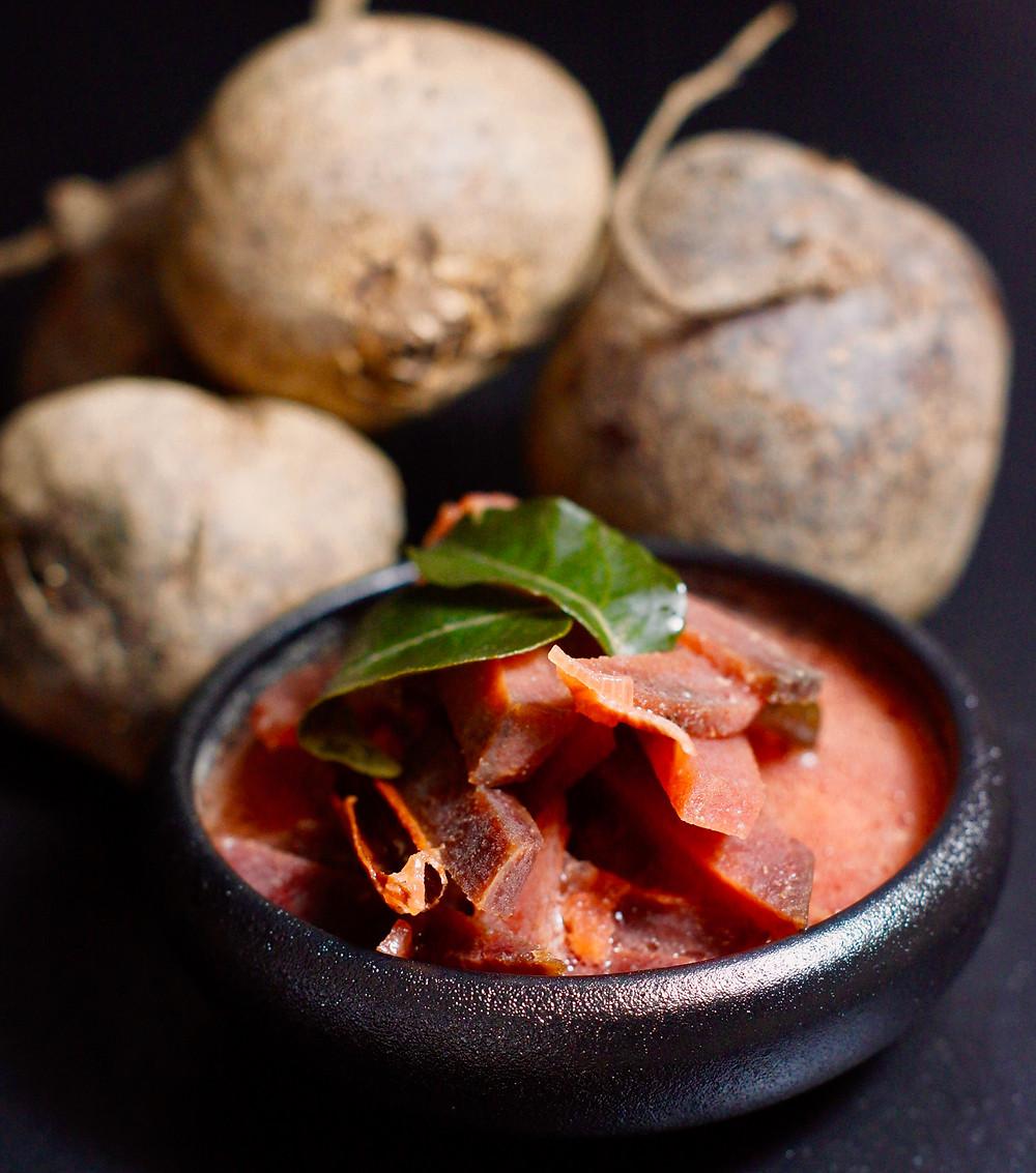 Rote Beete Curry aus Sri Lanka