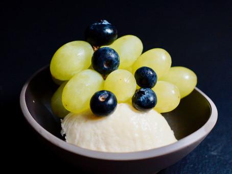 Parfait vom Apfelmost oder Federweißer
