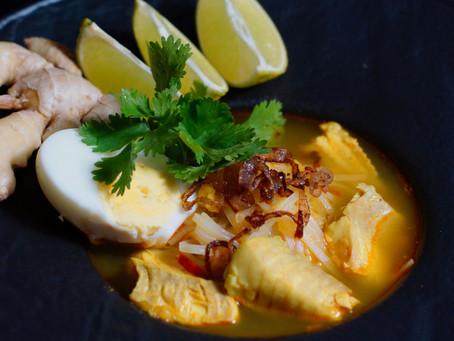 Mohinga - burmesische Fischsuppe
