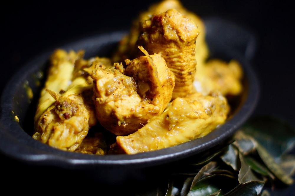 Hähnchen-Curry aus Sri Lanka