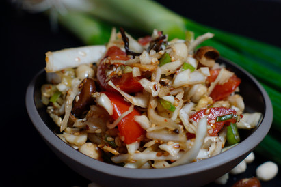 Laphet Thoke-Burmesischer Teeblattsalat
