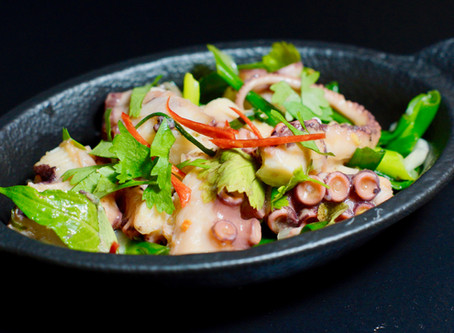 Salad Bach tuoc - Vietnamesischer Oktopussalat