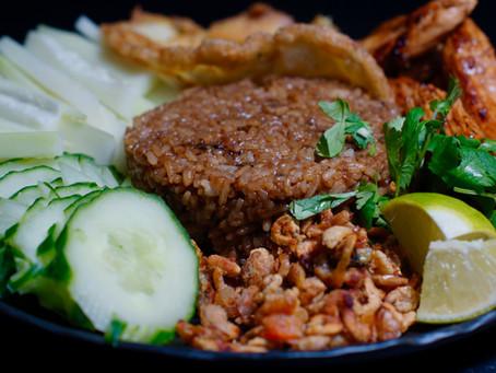Khao Kluk Kapi - gebratener Reis mit Garnelenpaste