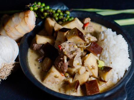 Samlaa Ko Phet - Rindfleisch-Tamarinden-Curry