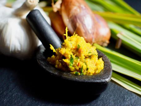 Kroeung – gelbe kambodschanische Zitronengras Paste