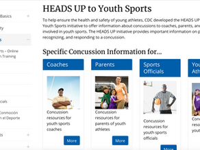 HEADS UP to Youth Sports