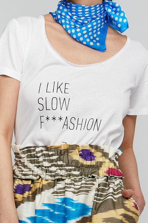 ZZA SLOW FASHION T-SHIRT