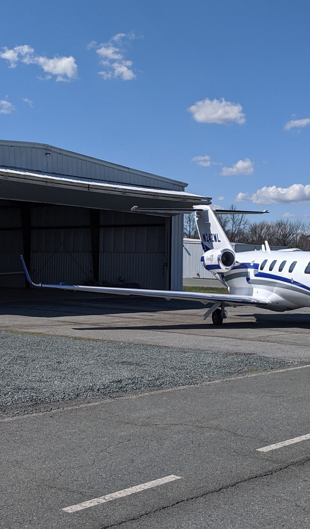 FBO Hangaring Jet