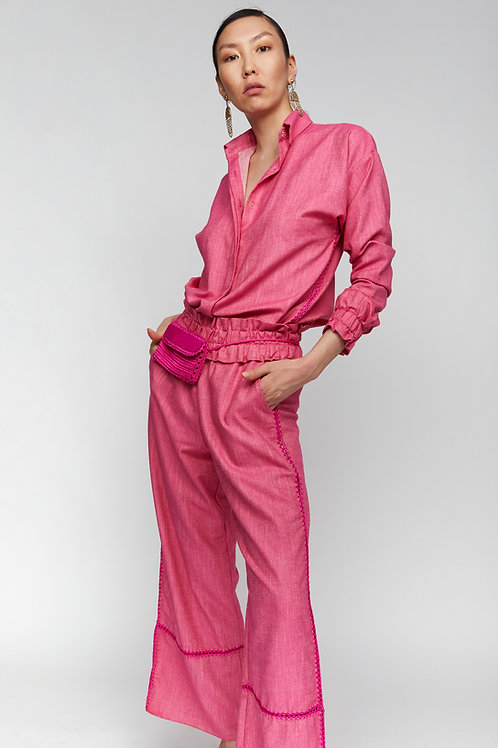 BLOOM LINE - FUCHSIA PANTS