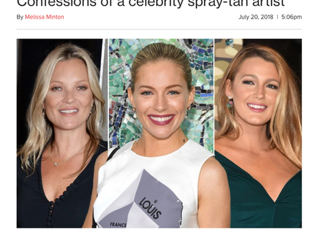 Page Six: Confessions of a celebrity spray-tan artist