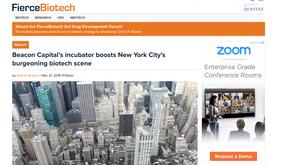Fierce Biotech: Beacon Capital's incubator boosts New York City's burgeoning biotech scene