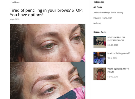 Tired of penciling in your brows? STOP! You have options!