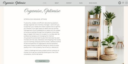 Organise, Optimise
