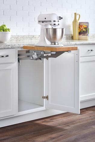 Base Cabinet Mixer Lift