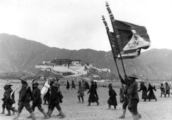 Revolt by the Tibetans