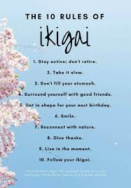 10 Rules of Ikigai