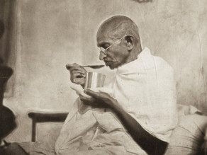 Overeating is a universal crime- Gandhi