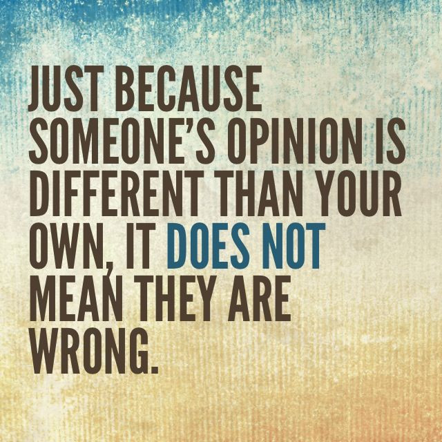 Respect other's opinion to influence people at work