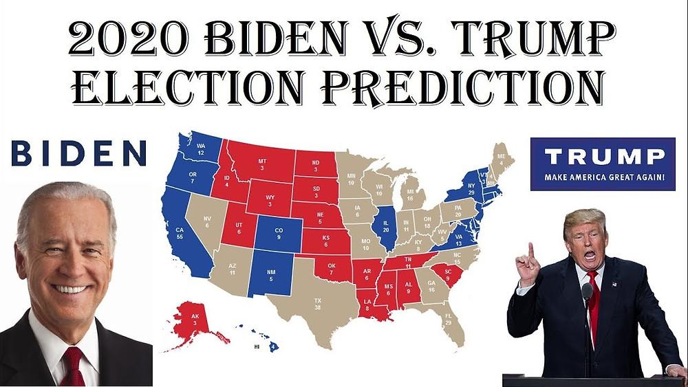 2020 Biden Vs Trump election prediction