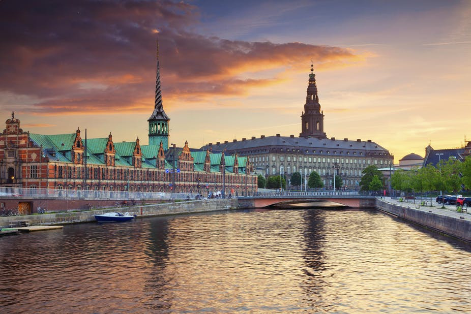 Majestic Landscape of Denmark